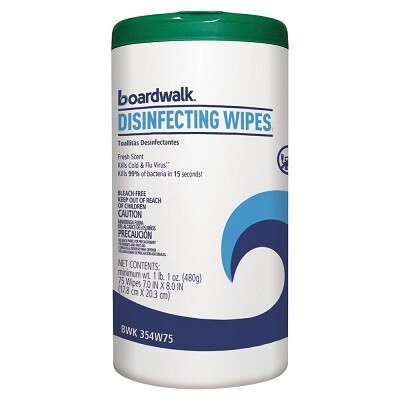 Boardwalk Disinfecting Wipes - Fresh Scent