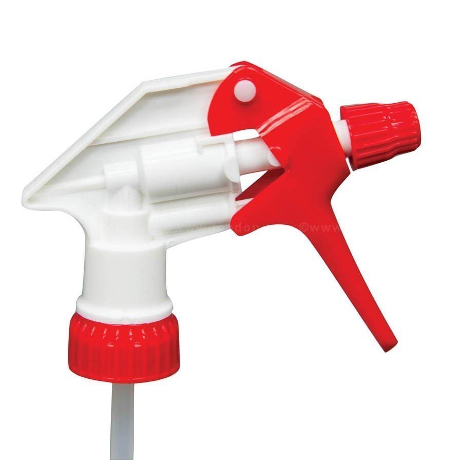 Red and White Trigger Sprayer Head   Water Base