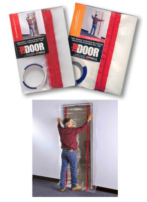 Zip Door by ZipWall - Standard