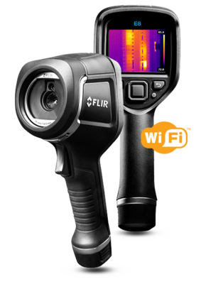 FLIR E8-XT Thermal Imaging Camera by FLIR