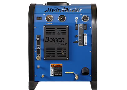Hydramaster Boxxer™ 318 HP with 100gl Waste Tank