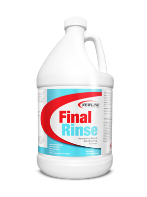 Final Rinse Carpet Rinse & Anti-Browning Treatment - (Select Size)