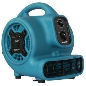 Mini Airmover with GFCI by Xpower  (Blue)
