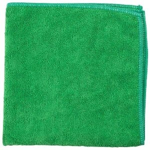Green Microfiber Towel |  16x16