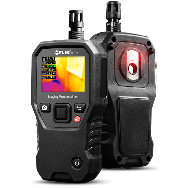 FLIR MR-176 IGM™ Moisture Meter with Replaceable Hygrometer
