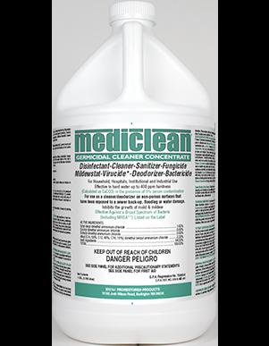 Mediclean Germicidal Cleaner Concentrate (QGC) Lemon Fragrance - GL