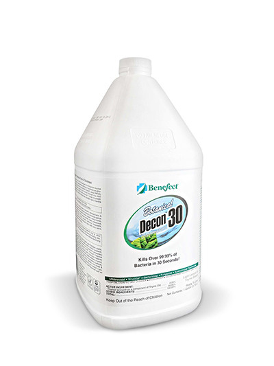 Benefect Decon 30 Antimicrobial Cleaner - GL
