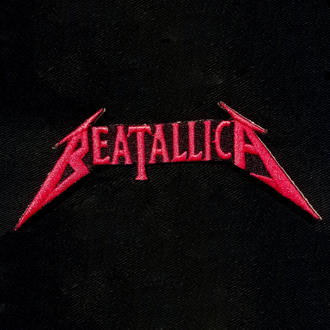 Beatallica Logo patch