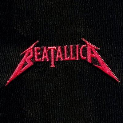 Beatallica Logo patch