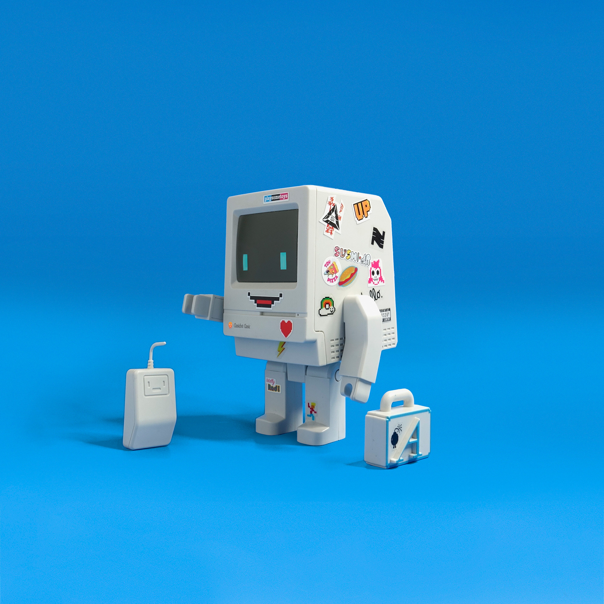 Classic Version Art Toy Figure by Playsometoys iBoy