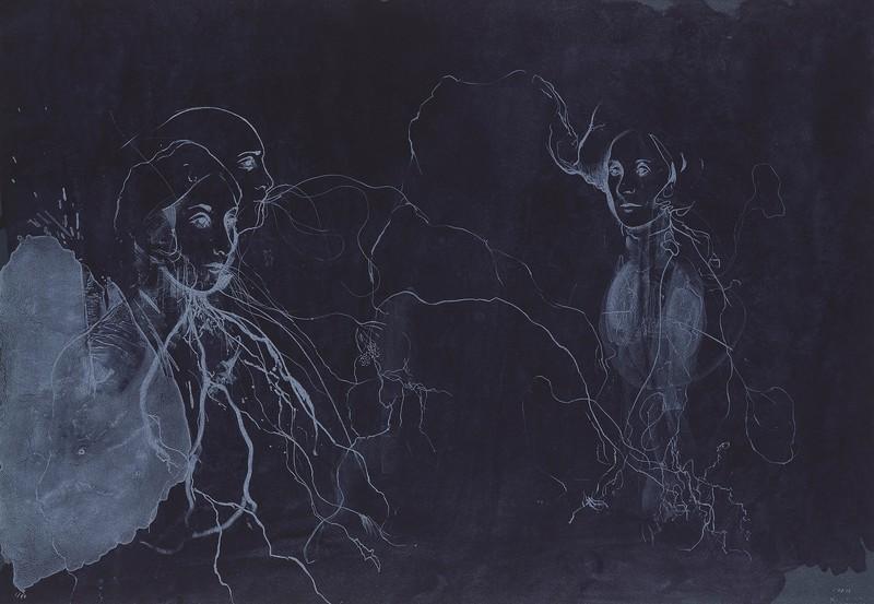Broken Forest - Lithograph