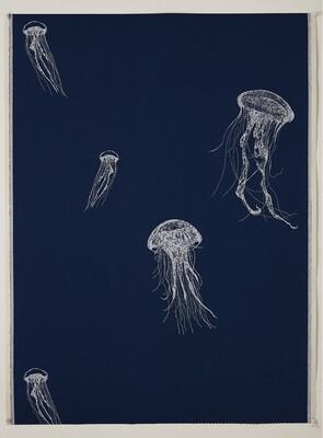 Sea Jelly Wallpaper (One Roll: 52cm x 10m )