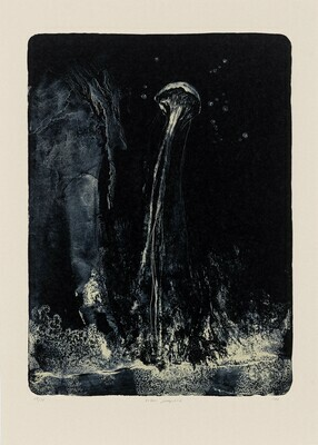 Totem Jellyfish - Lithograph