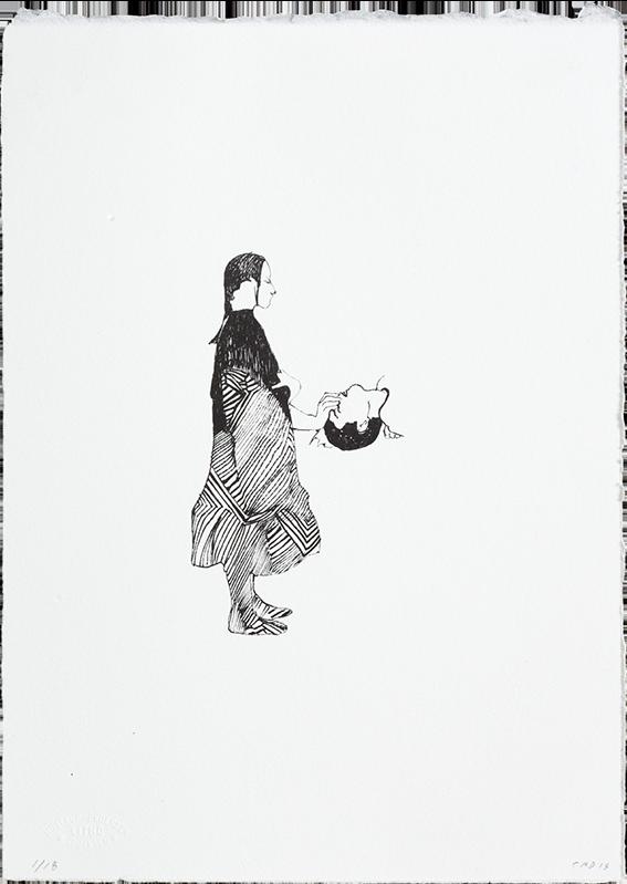 Trickster (No 9) - Lithograph