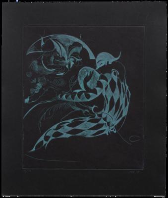 Hellequin (Black Trivelin) - Etching