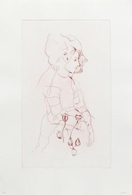 Hemlock Girl - Etching