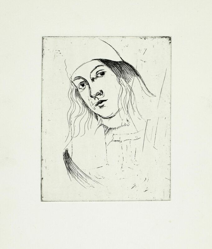 The Youth - Etching
