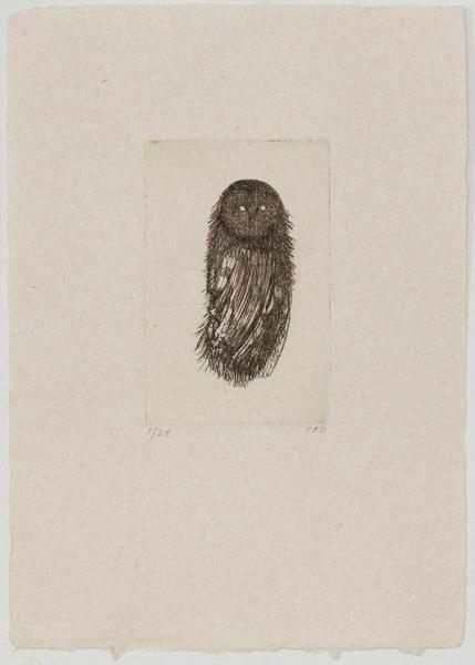 Night Owl - Etching