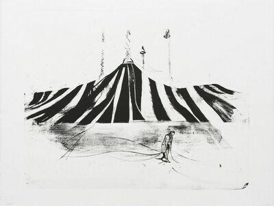 Trickster (Tent) - Lithograph