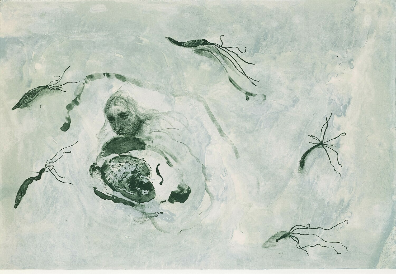 Tail Eater - Lithograph