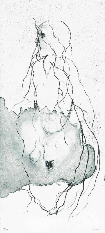 Conch - Lithograph