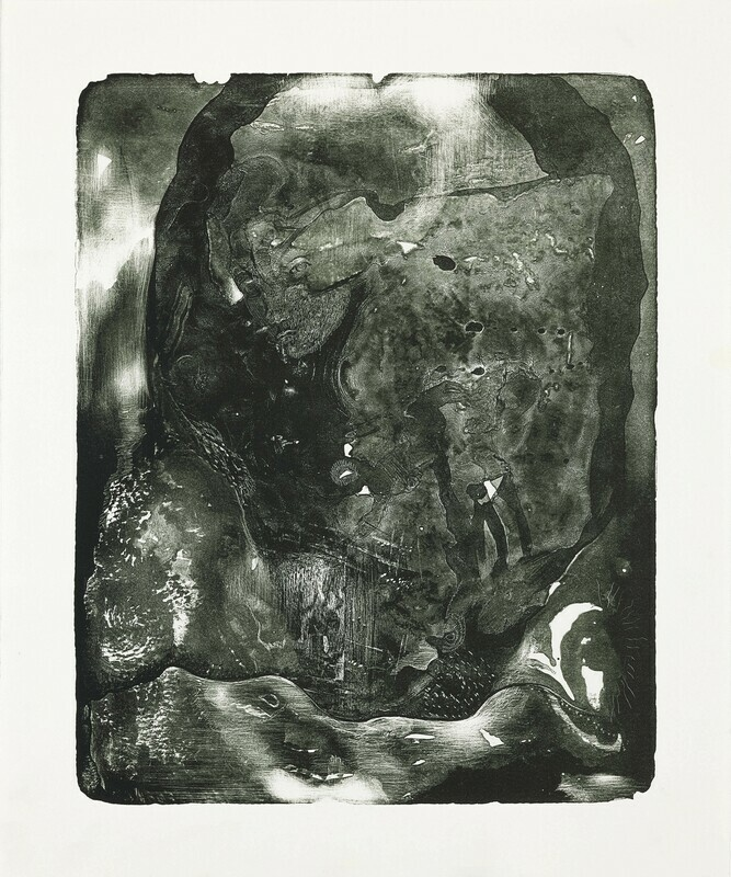 Despise me not because I am Dark and Black - Lithograph