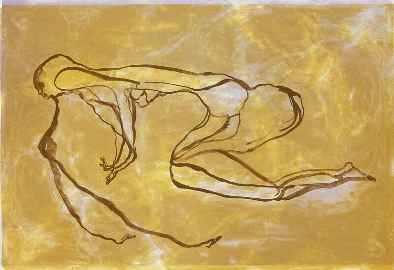 Waxing and Waning - Lithograph