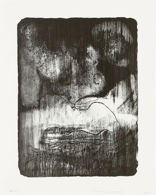 Todeskuss for Munch - Lithograph