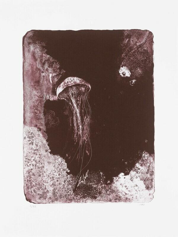 Sea Creature - Lithograph
