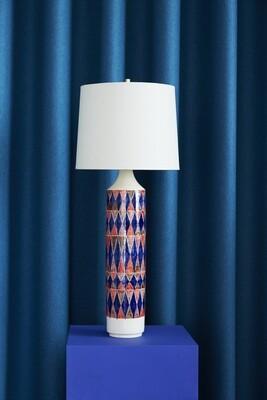 Checkered Lamp (Blue/Orange/Cherry/Umber)