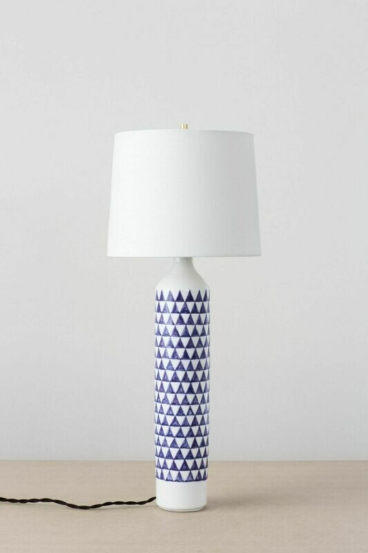 Checkered Lamp (Purple)
