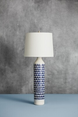 Checkered Lamp (Blue)