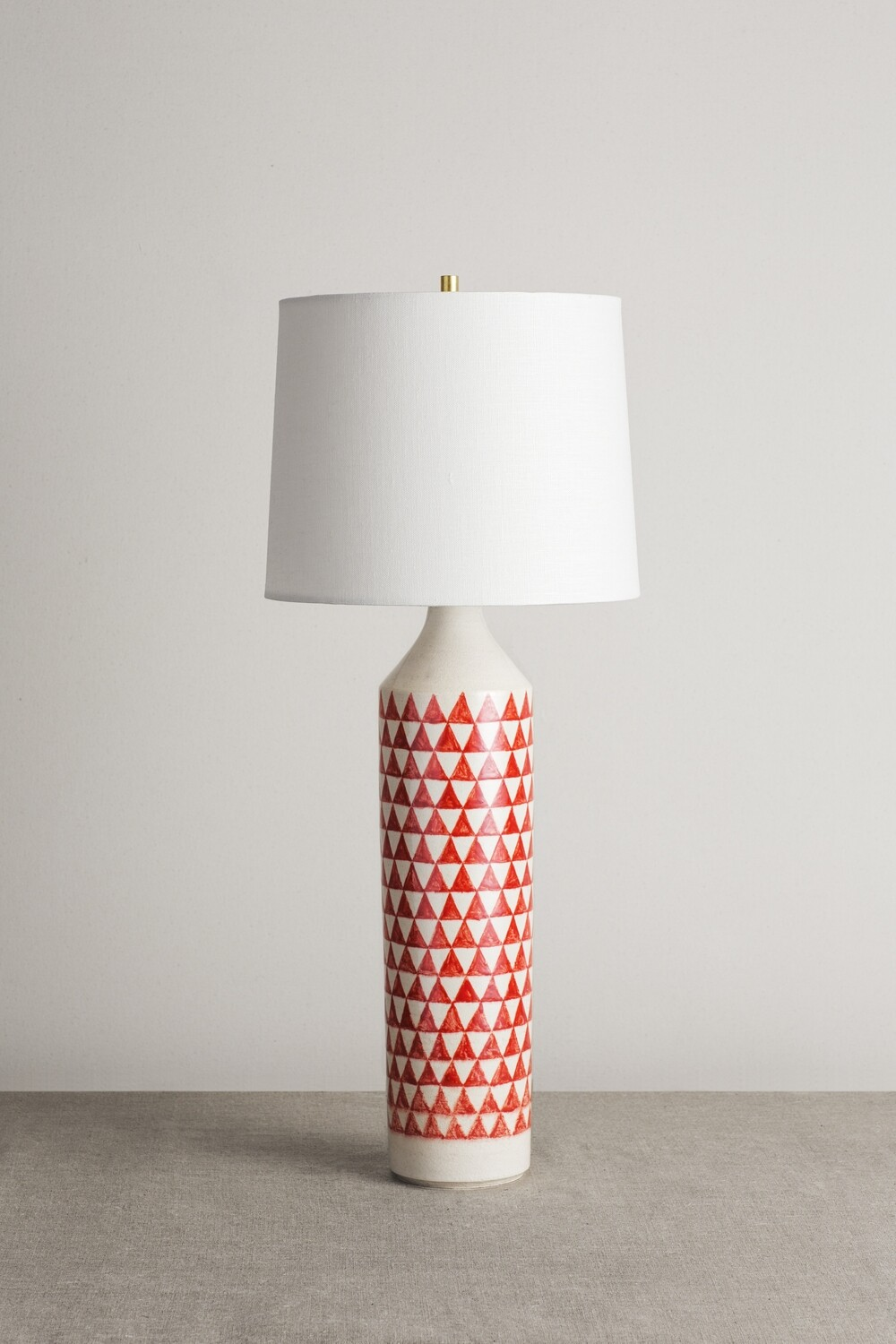Checkered Lamp (Orange)