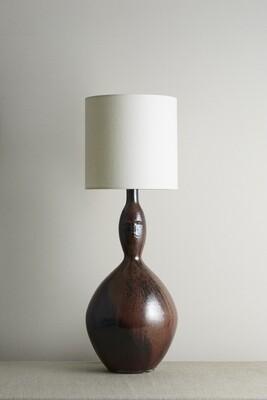 Tenmoku Vessel Face Lamp