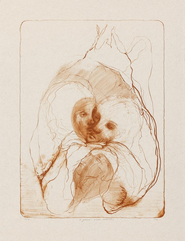 A Gleam Alone Remains - Lithograph
