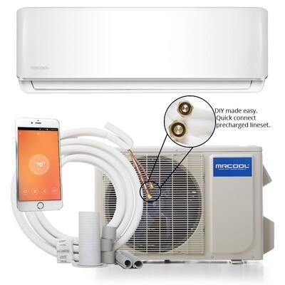 Mr Cool 12K BTU DIY Mini Split System 115 Volt  17.5 SEER Energy Rating