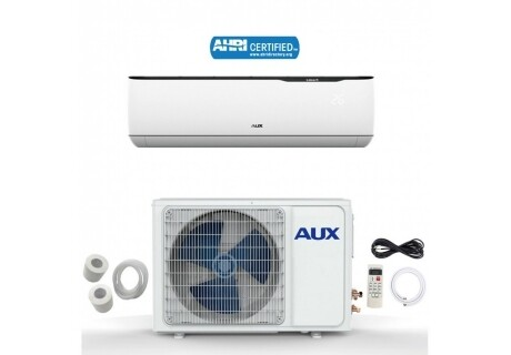 AUX 12000 BTU Mini Split with Inverter Compressor 115 Volt  17 SEER  with NON WIFI and 25 Foot Lineset Install Kit