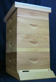 8 Frame Hive Kit Assembled #2 Lumber