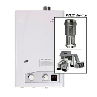 ECCOTEMP FVI-12 Liquid Propane Heater with Horizontal or Vertical Vent Kit