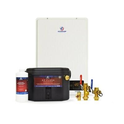 Eccotemp 20H Outdoor 6.0 GPM Liquid Propane Tankless Water Heater Service Kit Bundle