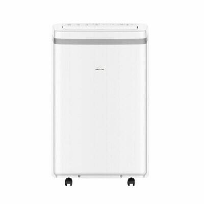 AUX 13000 BTU Portable Air Conditioner Dehumidifier AC Function Remote w/ Window Kits