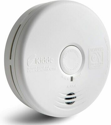 Kidde 21010170 10 Year Smoke and Carbon Monoxide Alarm Detector | Photoelectric | Kitchen
