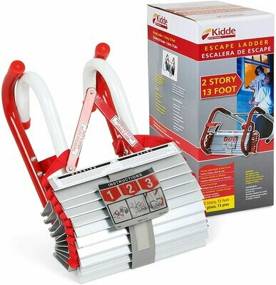 KIDDE 13 Foot Escape Ladder for Upper Lofts/Tiny Houses