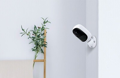 Argus 2  100% Wire-Free Battery Powered, or Solar Powered Security Camera