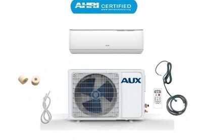 AUX 24000 BTU Ductless Air Conditioner Heat Pump MINI Split 2 TON 230V 17 SEER 25 ft Line set Non WiFi Control