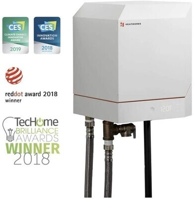 Heatworks Model 3 Ohmic Array Technology Tankless Water Heater