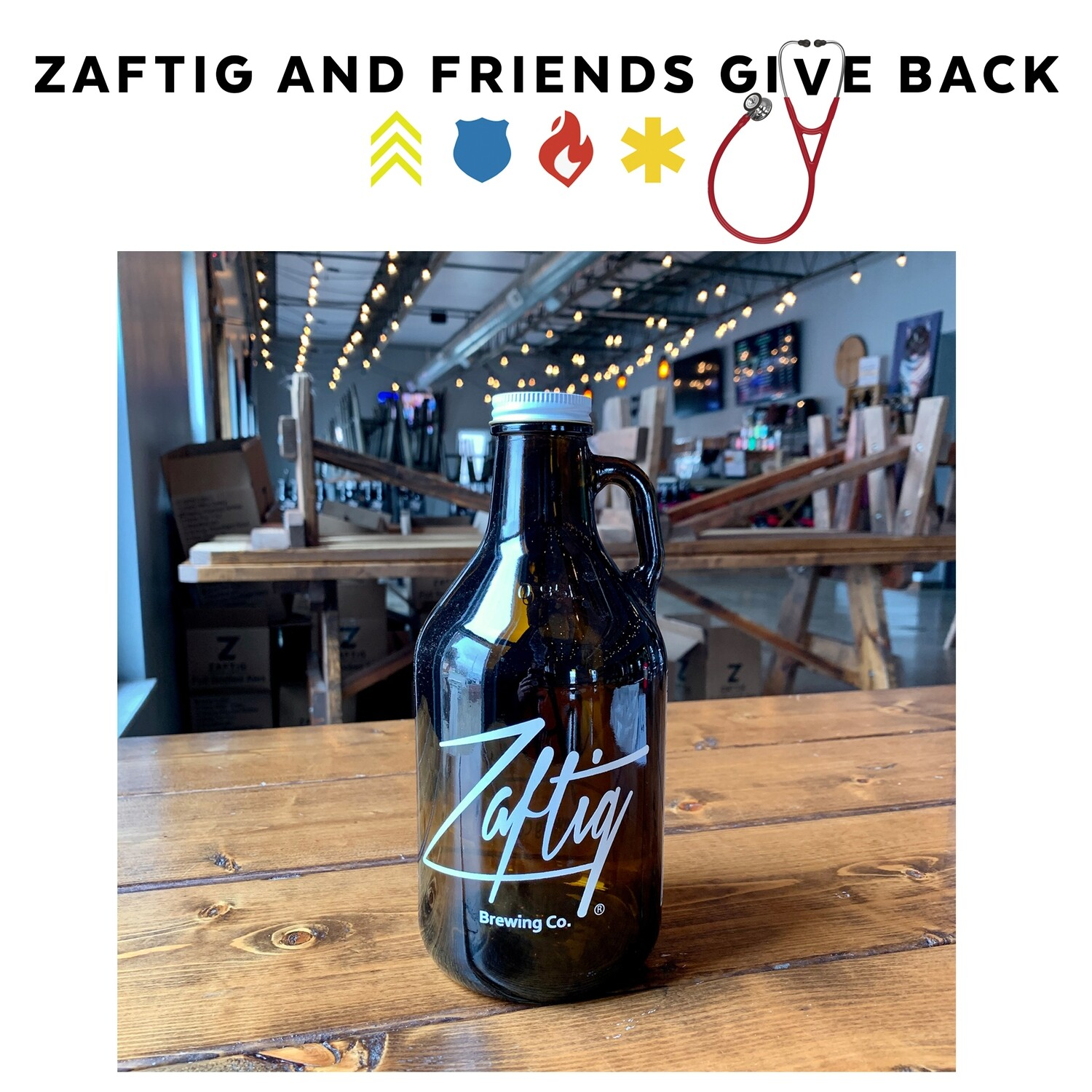 Zaftig & Friends Give Back Howler and Fill