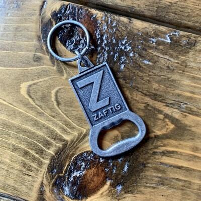 Zaftig Logo Keychain