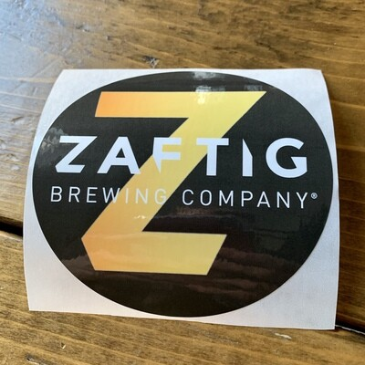 Zaftig Logo Sticker