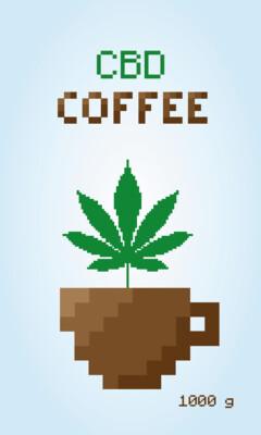 CBD coffeebeans 1kg